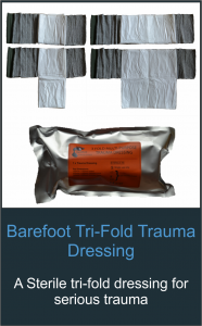 Shop Barefoot TriFold Dressing